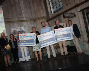 Challenge winnaars 2016