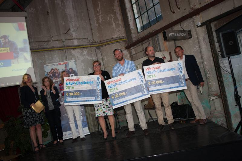 Verkozen tot winnaar NSvP-challenge 2016