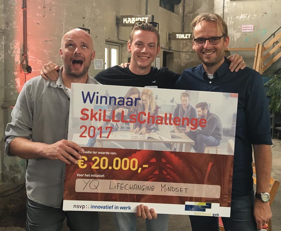 Publieksprijs gewonnen!